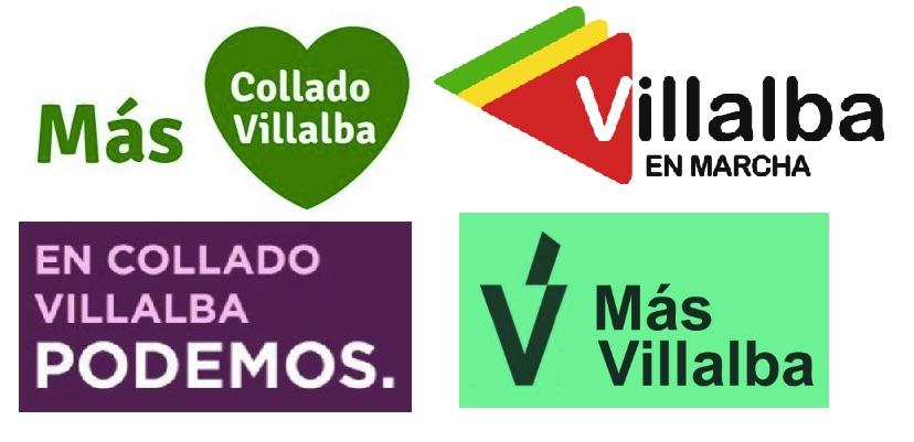 Alguno de los partidos que se presentarán en Collado Villaba.