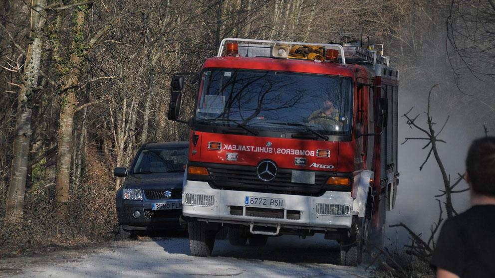 Un coche de bomberos. Foto: Europa Press