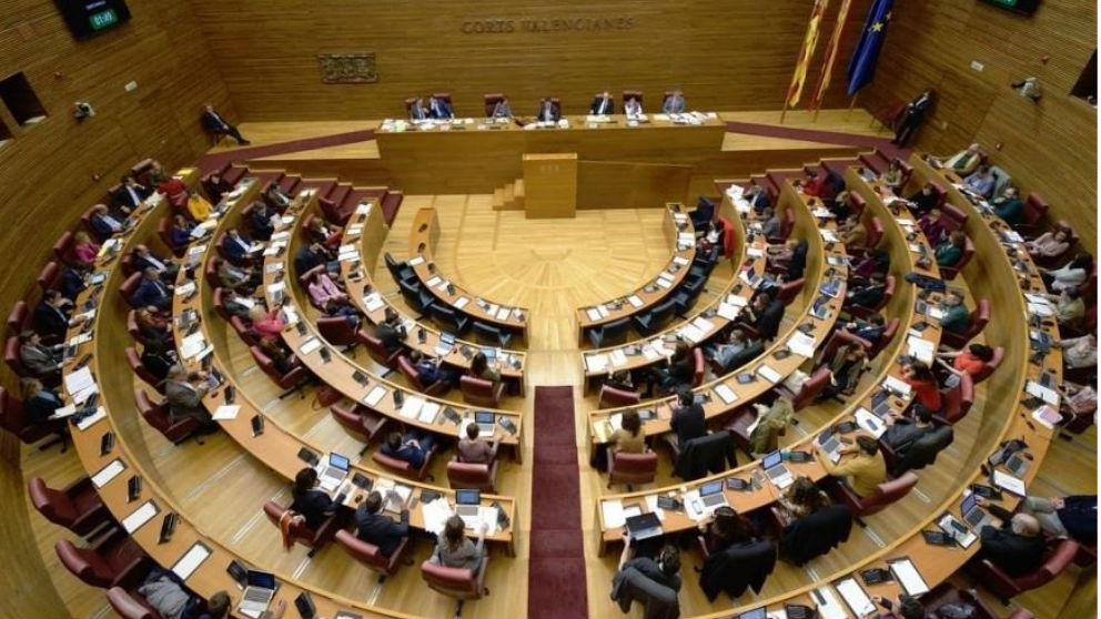 Cortes Valencianas. Foto: Europa Press