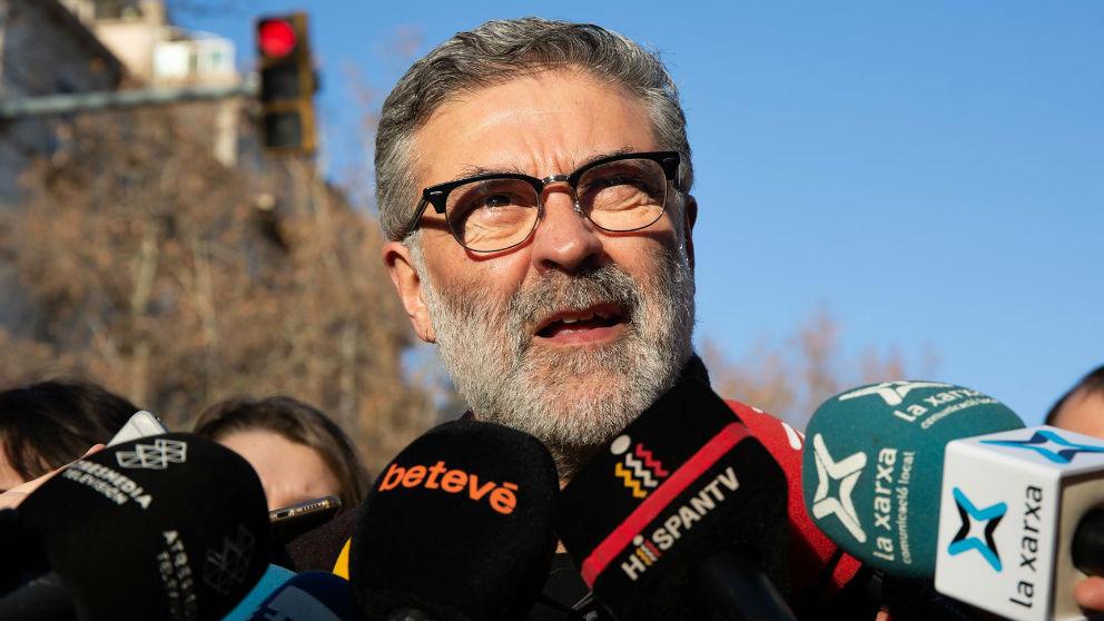 Carles Riera, portavoz de la CUP en el Parlament