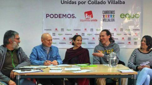 Encuentro de Podemos Collado Villalba.