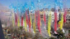 Descubre el programa de mascletás y castillos de las Fallas de Valencia 2019