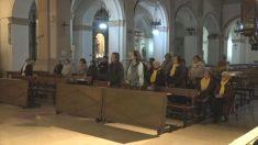 Unos actos de oración en Reus en apoyo a los golpistas presos por el 1-O (Foto: 'Germinans Germinabti')