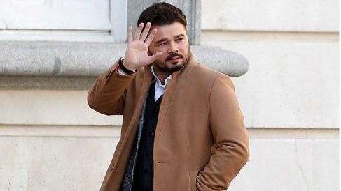Gabriel Rufián en una reciente imagen (Foto: EFE).