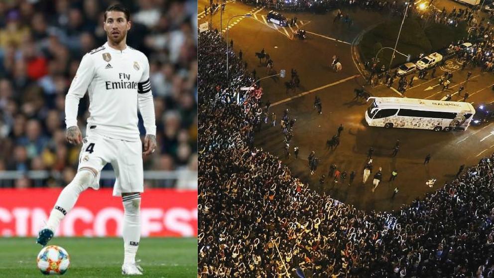 Sergio Ramos mandó un mensaje a la afición del Real Madrid.