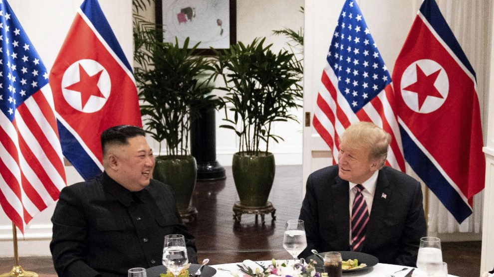 Donald Trump y Kim Jong Un. Foto: Europa Press