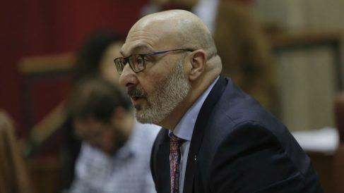 Alejandro Hernández, portavoz de VOX en el Parlamento andaluz. Foto: Europa Press