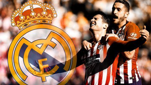 El Atlético de Madrid, por una vez, apoyará a sus vecinos en el Santiago Bernabéu.