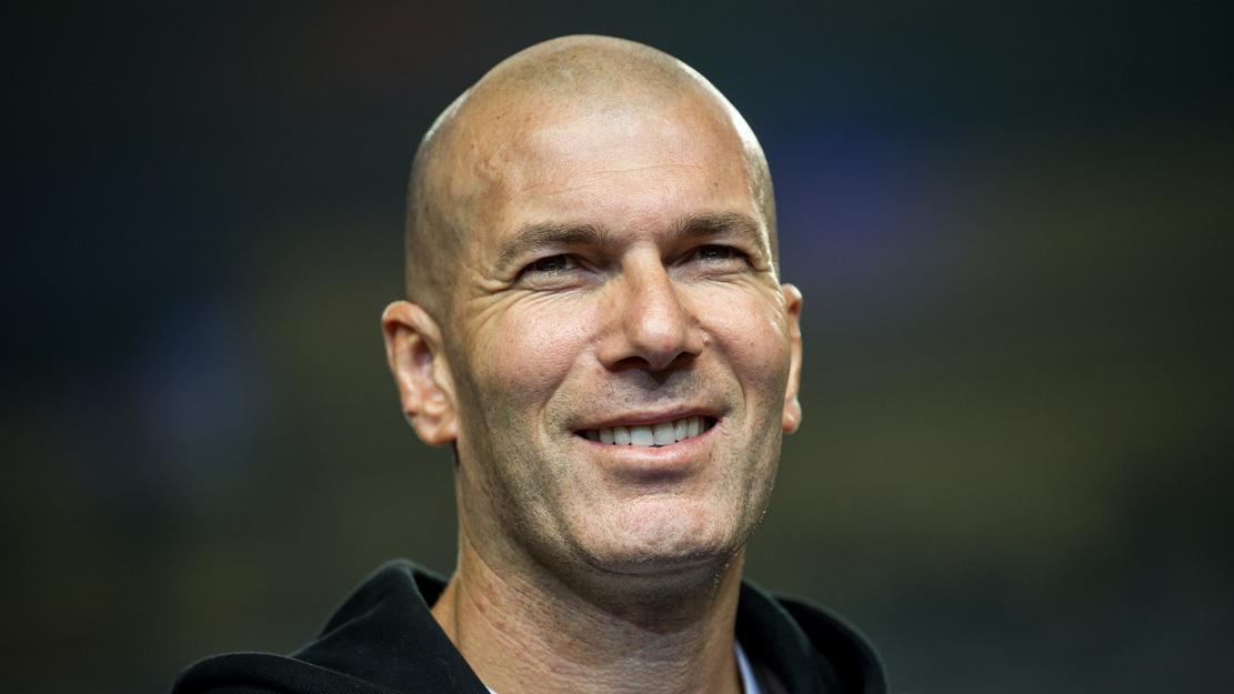 Zidane, durante un acto publicitario reciente (AFP).