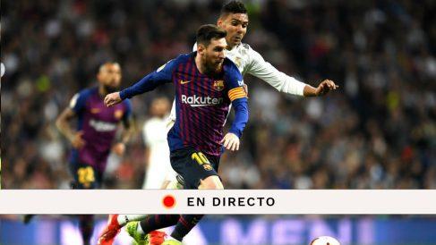 Liga Santander 2018-2019: Real Madrid – Barcelona | Partido de fútbol hoy, en directo.