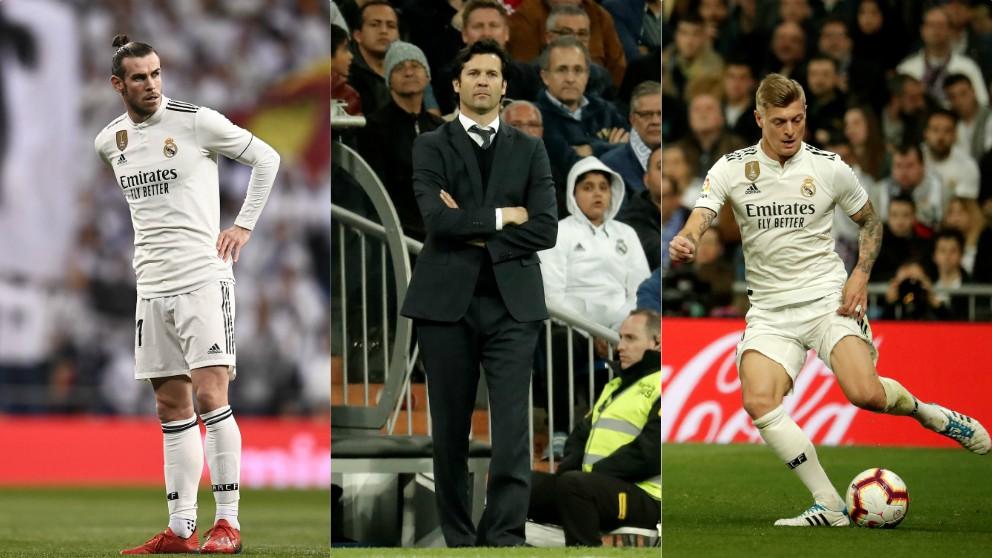 Bale, Solari y Kroos, los grandes señalados del Clásico.