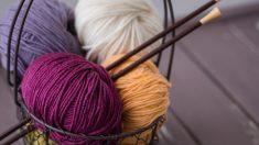 Pasos para hacer un ovillo de lana