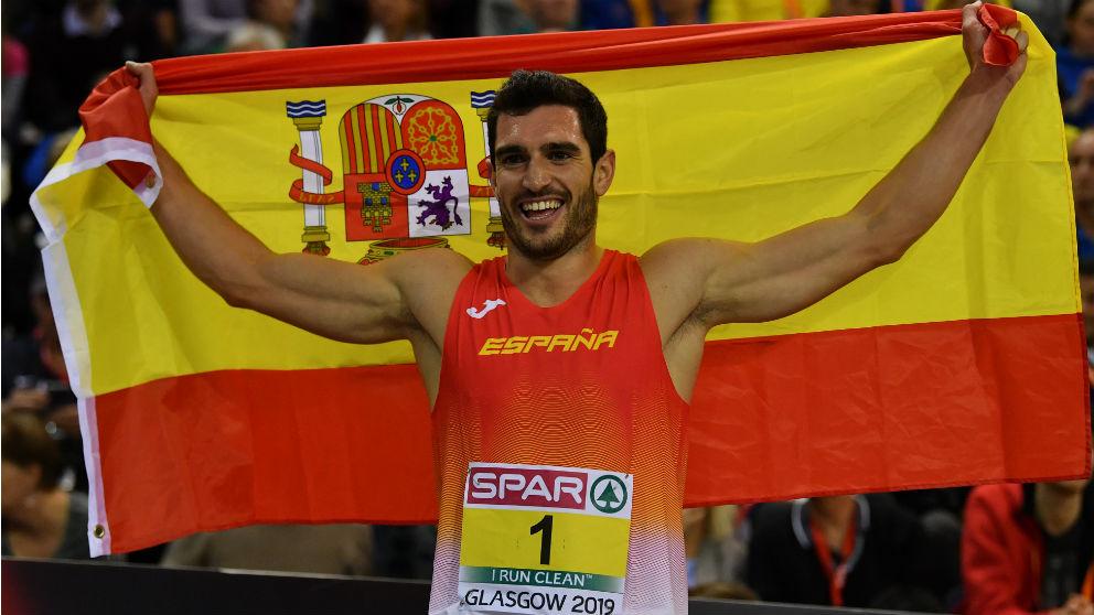 Jorge Ureña. (AFP)