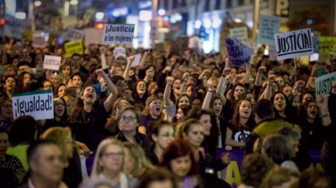 Manifestación 8 de marzo en Valencia
