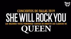 She Will Rock You protagoniza el Programa de conciertos de las Fallas de Valencia 2019