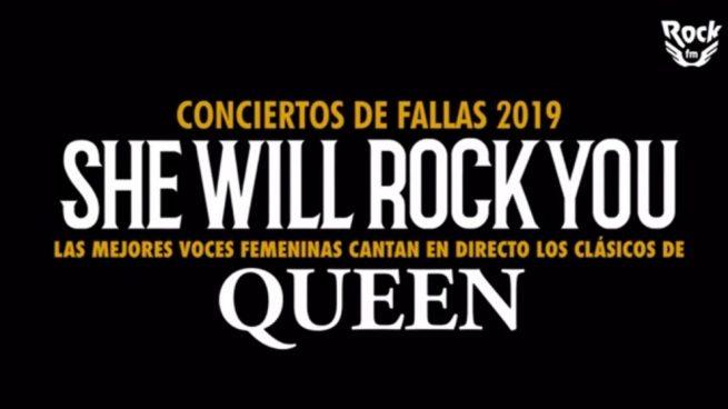 Programa conciertos Fallas Valencia 2019