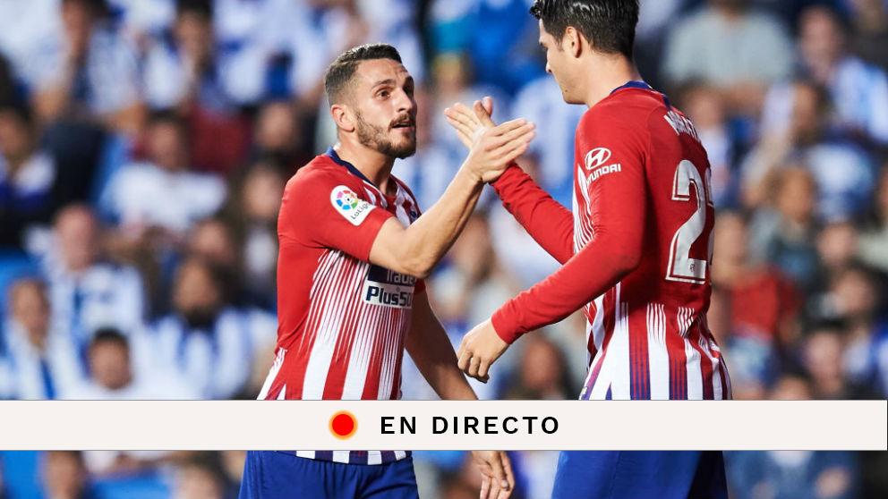 Liga Santander: Real Sociedad – Atlético de Madrid   Partido de fútbol hoy, en directo