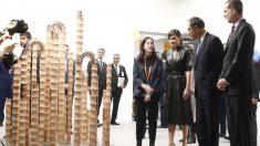 Los Reyes Felipe Vi y Letizia durante su visita a ARCOmadrid 2019. Foto: Europa Press