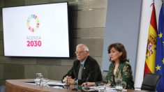 Borrell y Calvo en rueda de prensa. Foto: Europa Press