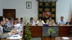El Salón de Plenos del Ayuntamiento de Galapagar.