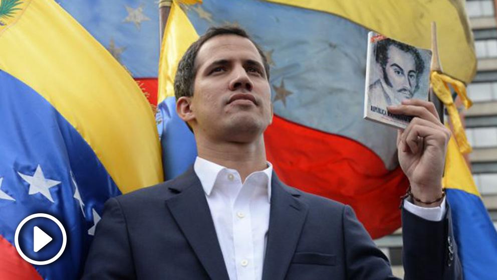 Juan Guaidó en una reciente imagen.