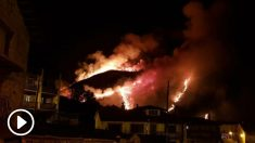 Incendio en Cantabria. Foto: Europa Press