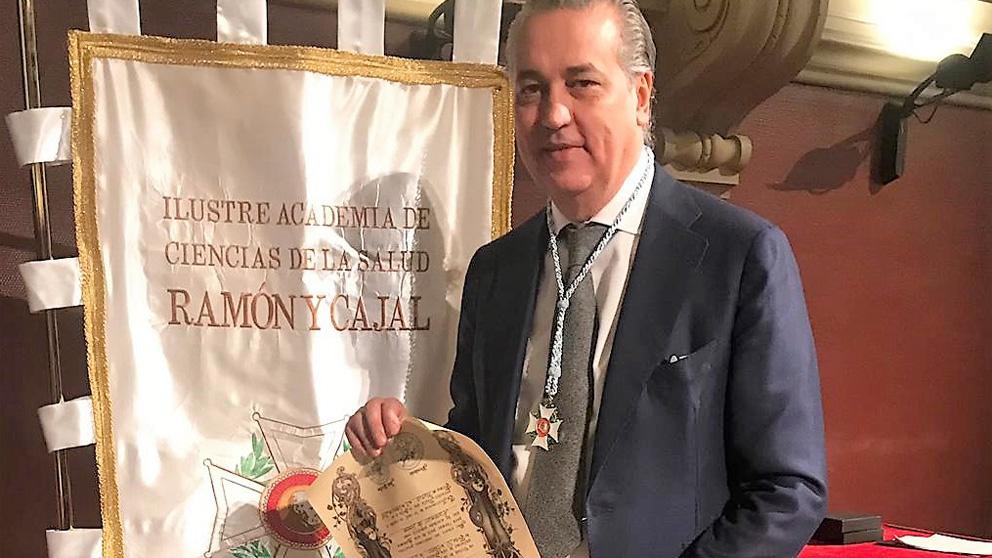 El Dr. Jorge Planas, Director Médico de Clínica Planas, ha ingresado en la Ilustre Academia de Ciencias de la Salud Ramón y Cajal con la distinción de Académico de Honor.