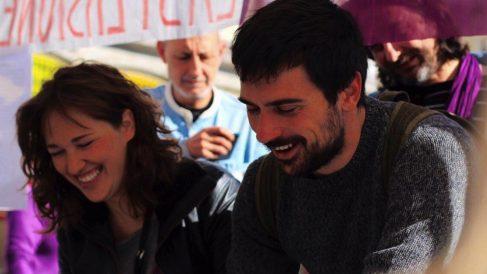 María Espinosa y Ramón Espinar.
