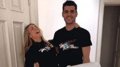 Álvaro Morata y Alice Campello. (Instagram)