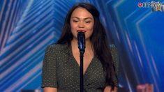 Andrea Sousa tiene que parar su actuación en 'Got Talent'