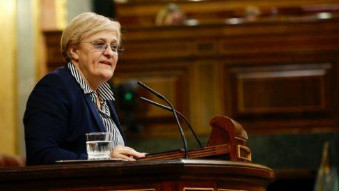 La portavoz del PSOE en la Comisión de Igualdad del Congreso, Ángeles Álvarez. (Foto: Flickr PSOE)