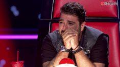 Antonio Orozco nos emociona en 'La Voz'
