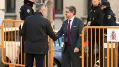 Enric Millo a su llegada al Supremo. Foto: EFE