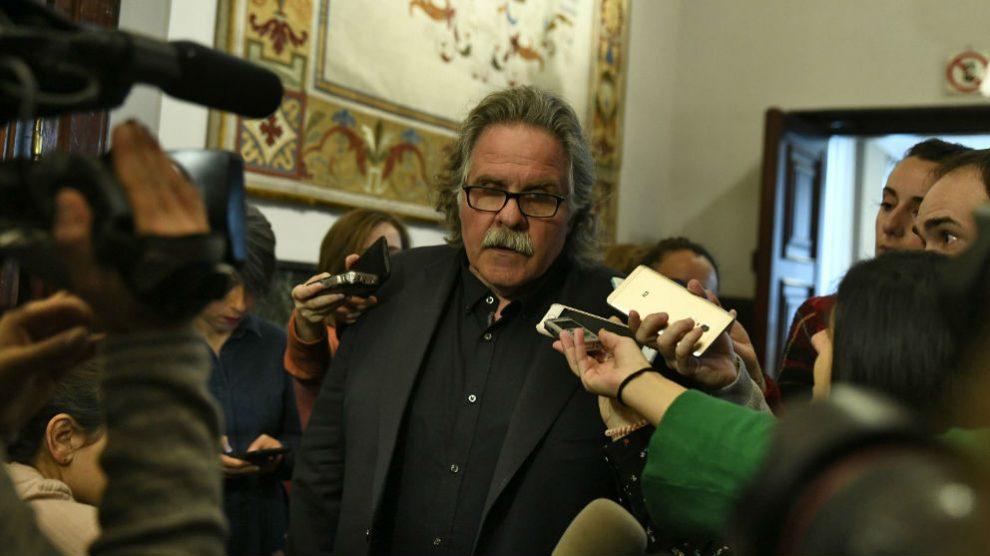 Joan Tardà, ex portavoz de ERC en el Congreso. (Foto: Europa Press)