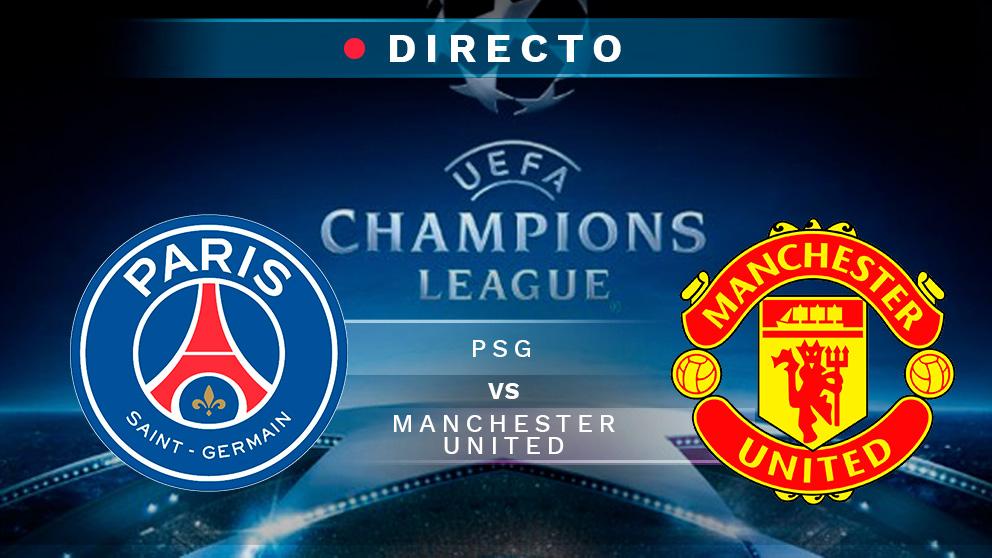 Champions League: PSG – Manchester United   Partido de fútbol hoy de la Champions League, en directo.
