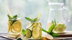 Receta de Limonada con toque asiático