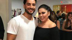 Maluma e Isabel Pantoja, el abrazo más comentado