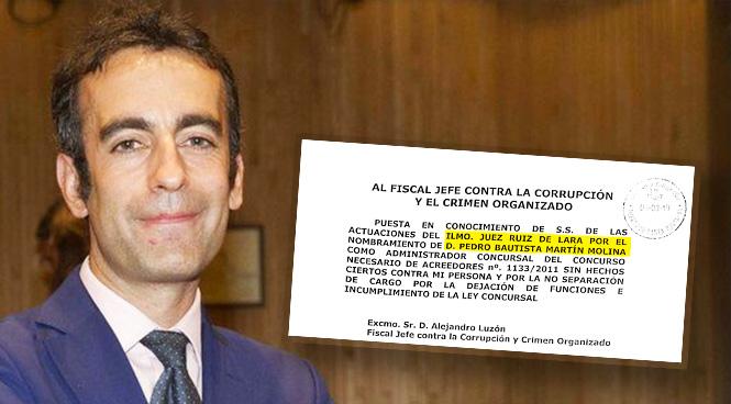 El juez Manuel Ruiz de Lara.