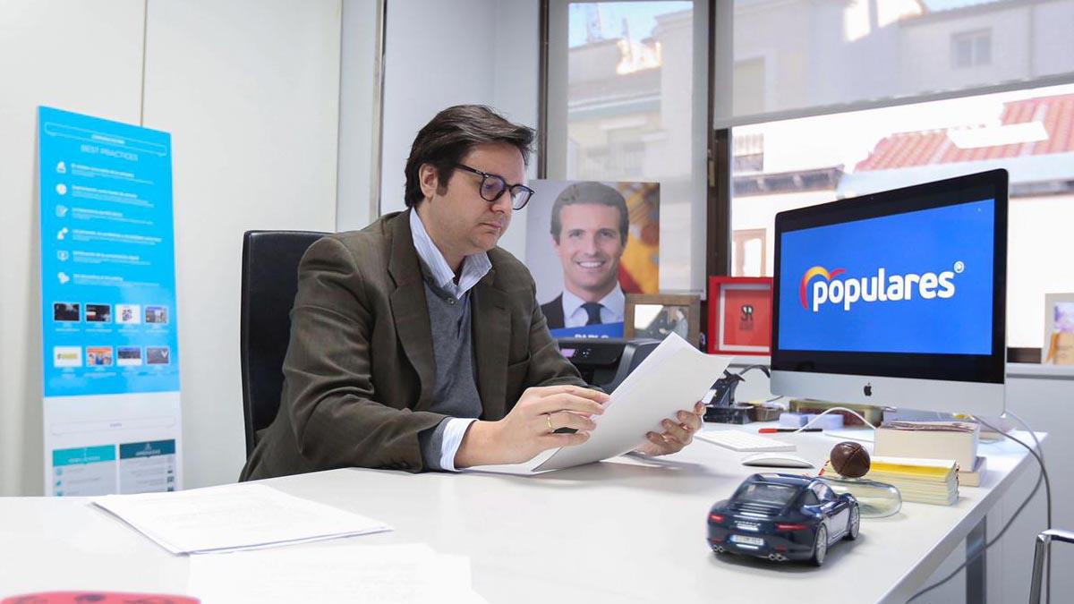 Sergio Ramos, secretario de Imagen Corporativa del PP.
