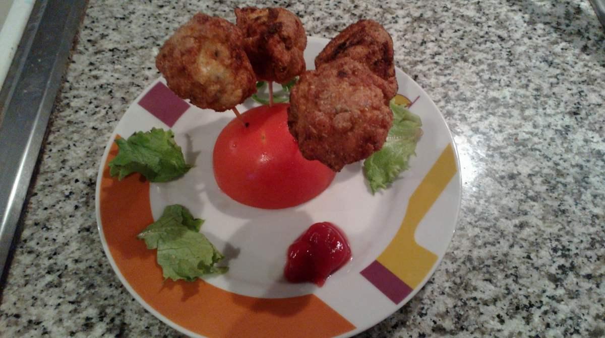 Chupa chups de pollo