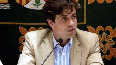 El todavía alcalde de Galapagar, Daniel Pérez Muñoz.