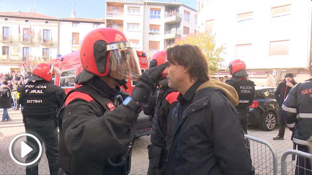 La Policía Foral multa a CiudadanOK pero no a los proetarras.