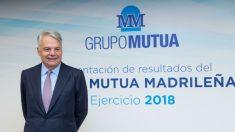Ignacio Garralda (Mutua Madrileña) durante la presentación de resultados 2018