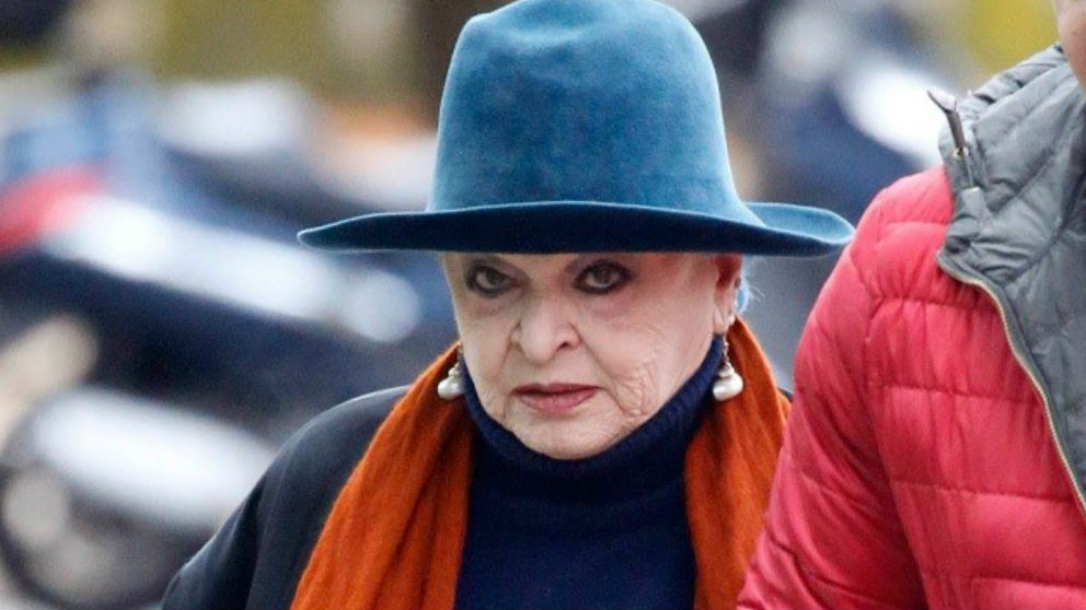 La madre de Miguel Bosé. Foto: Europa Press