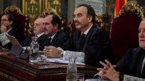 Marchena en el juicio del 1-O. Foto: Europa Press