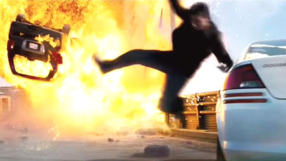 Imagen de la película 'Misión Imposible' que Jordi Sànchez ha usado para mofarse de la secretaria judicial del 20S