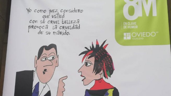 pancarta-8M-ayuntamiento-de-oviedo