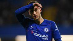 Eden Hazard, en un partido con el Chelsea. (AFP)
