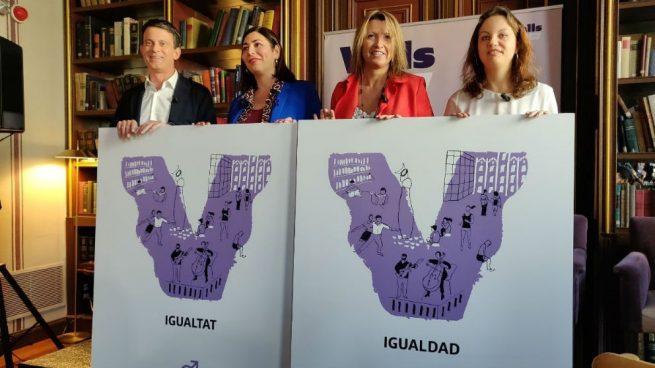 La diputada de C's María Luz Guilarte será la número dos de Valls en Barcelona