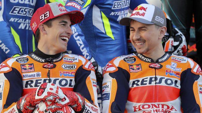 Márquez y Lorenzo piden cambiar la hora del GP de Qatar
